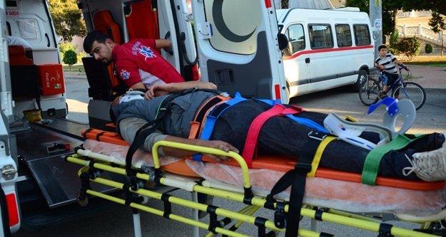 Manavgat'ta motosiklet kazaları: 4 yaralı