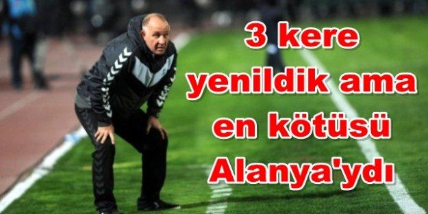 Mesut Bakkal Alanya yenilgisini unutamamış