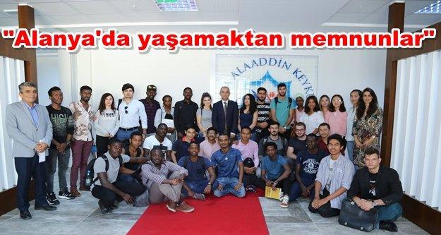 Rektör Pınarbaşı'na 'Yabancı' ziyaret