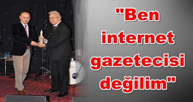 Sipahioğlu#039;ndan AGC#039;ye ödül tepkisi