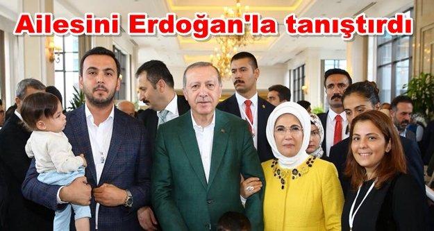 Toklu'dan Erdoğan'lı mesaj