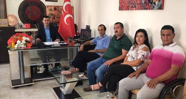 Türkdoğan muhtarları dinliyor