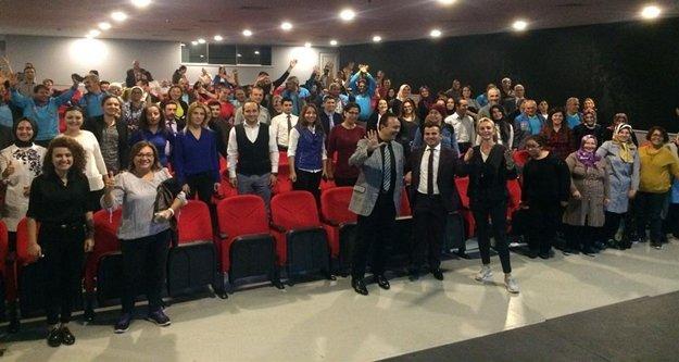 Alanya Belediyesi'nde iş ve aile semineri