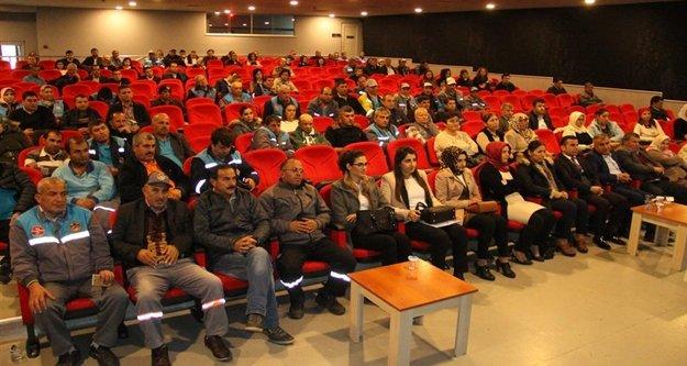 Alanya Belediyesi seminerlere devam ediyor