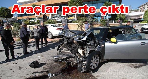 Alanya'da kaza: 1 kişi yaralandı