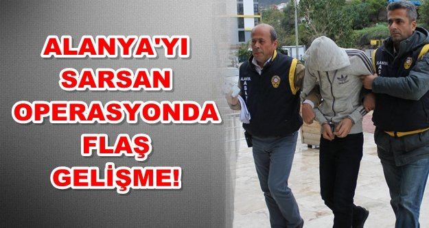 Alanya'daki hırsızlık çetesine 2 gözaltı daha