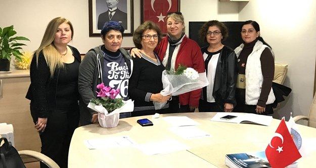Alanya'dan seslendiler: Kadına şiddete hayır