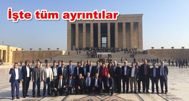 Alanyalı muhtarların Ankara çıkarması sona erdi