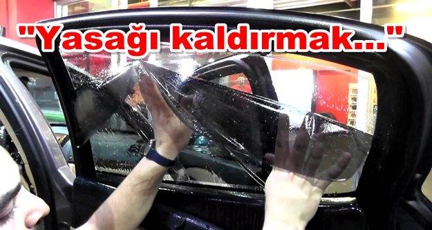 Bakan Özlü'den cam filmi açıklaması