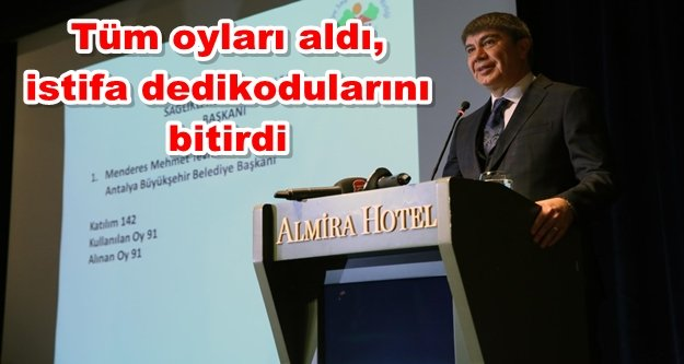 Başkan Türel'e kritik görev