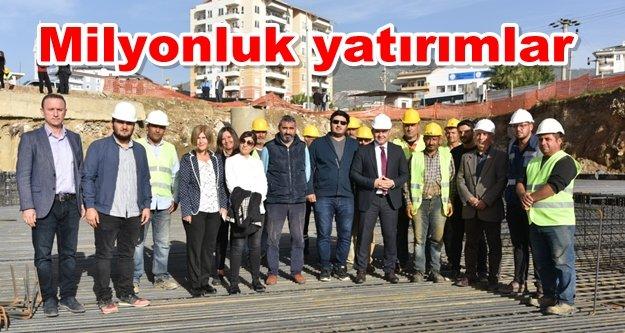 Başkan Yücel Alanya'daki yatırımları tanıttı