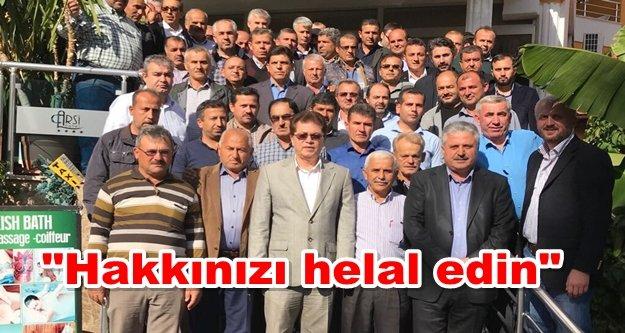 Berberoğlu mahalle başkanları ile vedalaştı