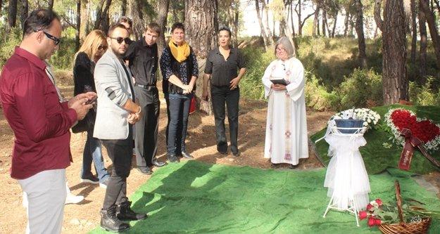 Cenaze için Alanya'dan din görevlileri gitti