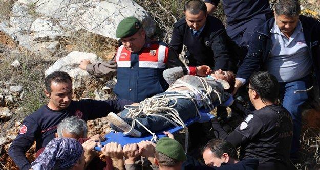 Dağda mahsur kalan Rus kardeşlere nefes kesen kurtarma operasyonu
