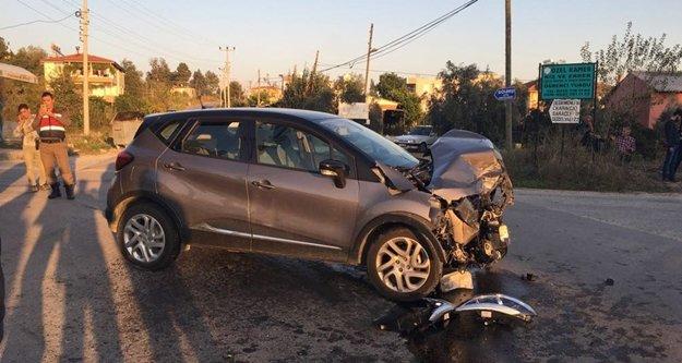 Feci trafik kazası: 4 yaralı var