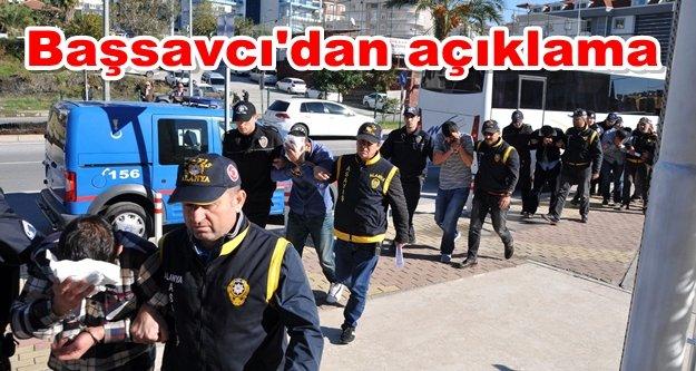 İşte Alanya'da tutuklanan hırsızlık çetesi üyelerinin isimleri