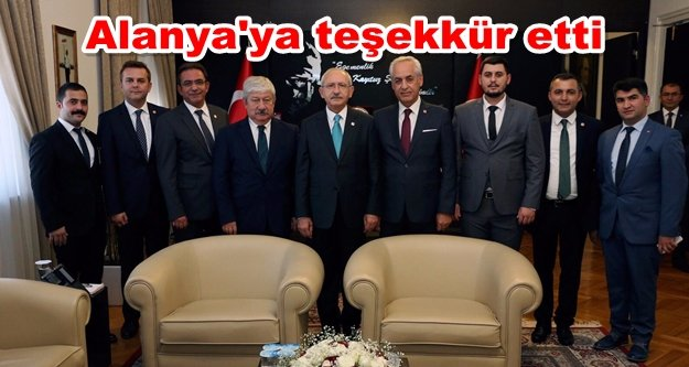 Kılıçdaroğlu'na 2019 için söz verdi