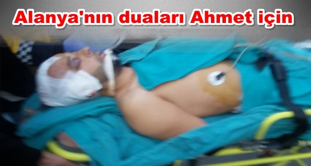 Motosiklet kazası! 1 kişi ağır yaralı