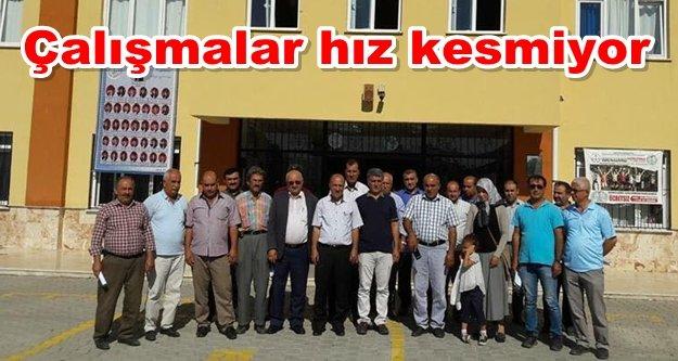 Özkan servisçilerle toplantı yaptı