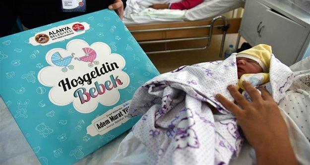 Proje Alanya'daki 5 bininci bebeğe ulaştı