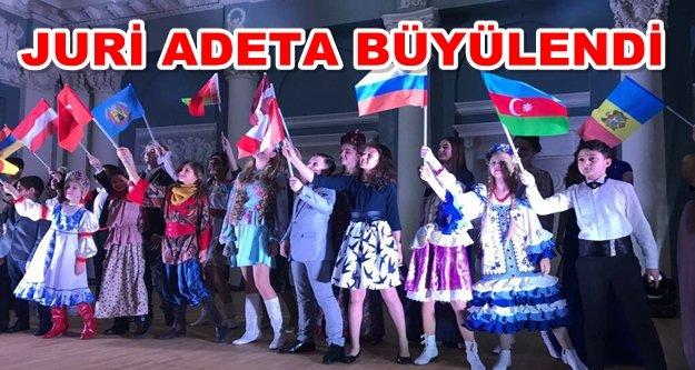 Rus Şarkı Festivali'ne Alanya damga vurdu