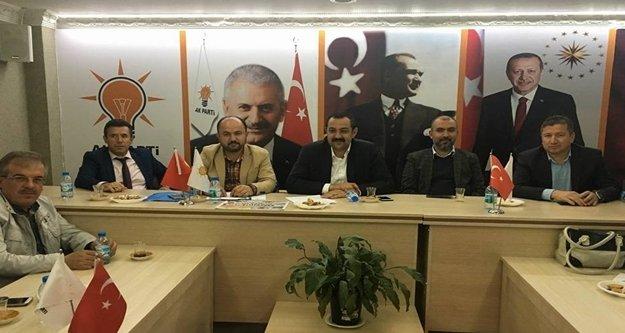 Sümer, AK Parti Korkuteli Grup Toplantısında