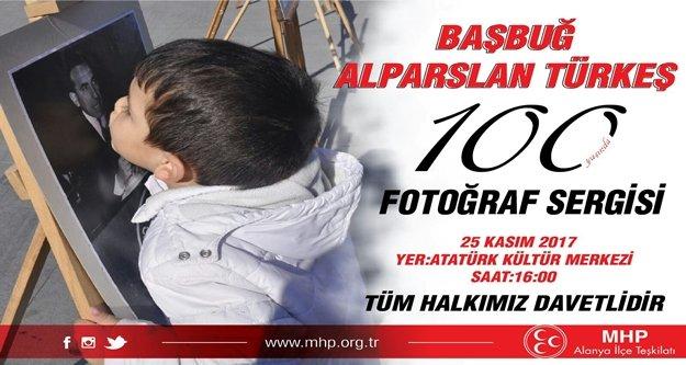 Türkeş anısına fotoğraf sergisi