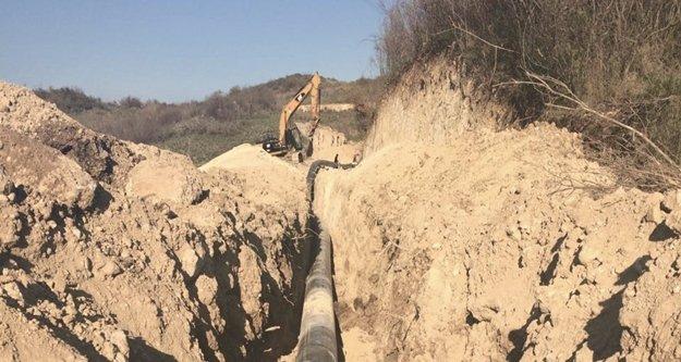 14 Mahallenin içme suyu hattı yenilendi