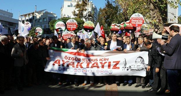 ABD'nin Kudüs kararına Antalya'dan tepki