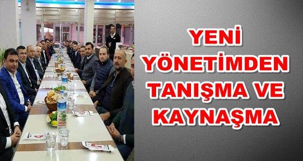 AK Parti yeni yönetimi ilk kez buluştu