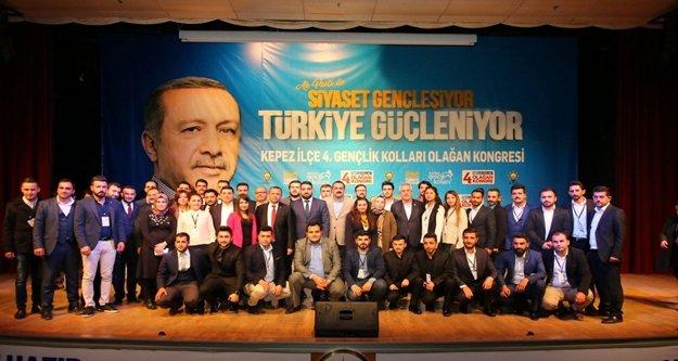 AK Parti'nin ilçe Gençlik kolları kongreleri tamamlandı
