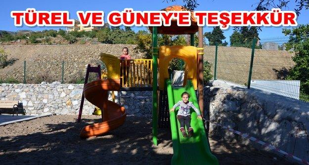 Alanya'da çocuklara park müjdesi