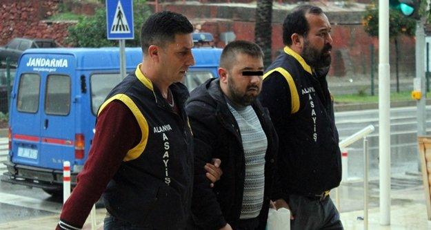 Alanya'da vurularak yakalanan cezaevi firarisi tutuklandı