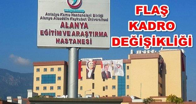 Alanya Devlet Hastanesi'nde deprem