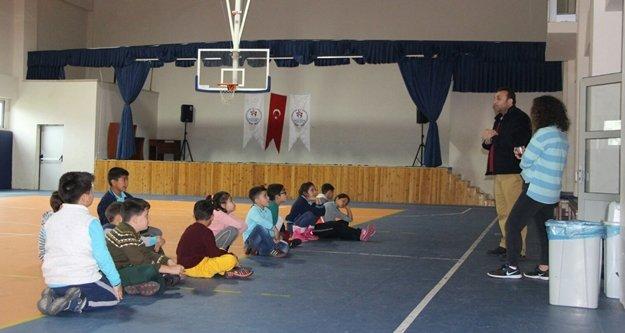Alanya Gençlik Merkezinin minik ziyaretçileri