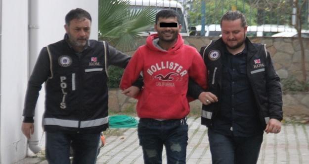 Alanya'da zehir taciri yakalandı