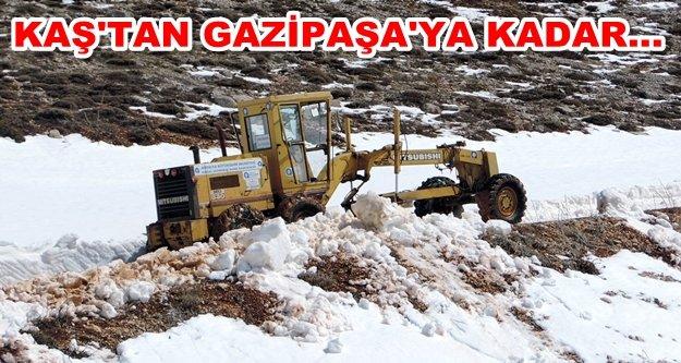 Antalya asfalta doydu
