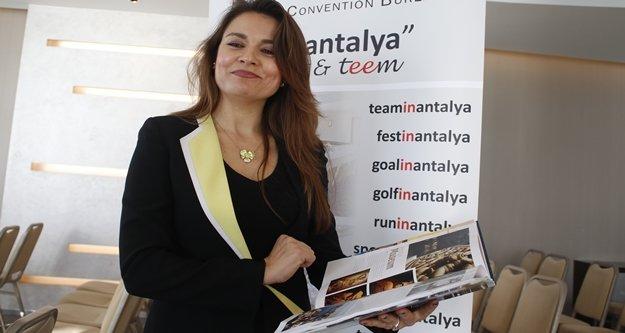 'Antalya'nın 200 bine yakın kongre için koltuk kapasitesi var'