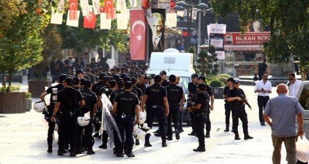 Antalya'da provokatif eylemlere karşı uygulama