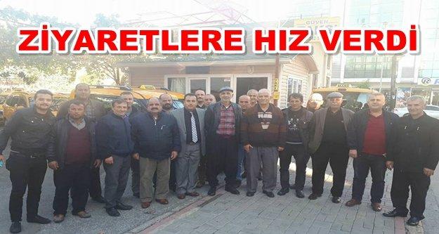 Çalış Güven Taksi'de 'Güven' dağıttı