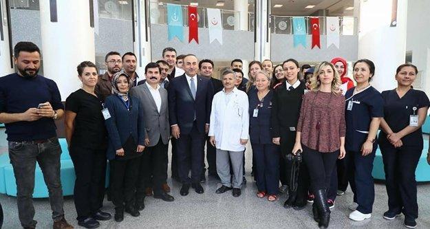 Çavuşoğlu Alanya'nın yeni hastanesini inceledi