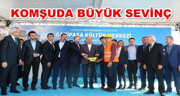Çavuşoğlu muhteşem projenin temelini attı
