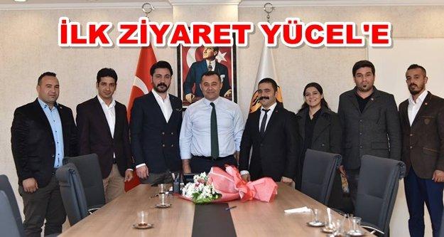 CHP'li gençlerden Başkan Yücel'e ziyaret