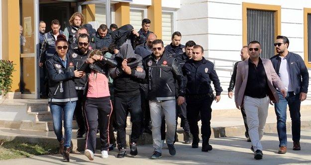 Fuhuş ve uyuşturucu operasyonu: 19 gözaltı