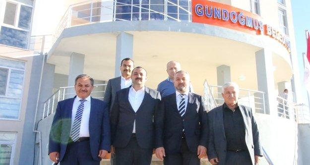 Gündoğmuş'un AKP'li ağır misafiri