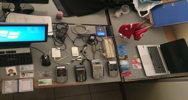 Güven timlerinin şüphelendiği şahısların üzerinden kart kopyalama malzemeleri çıktı