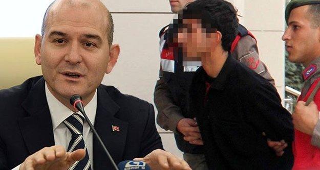 İçişleri Bakanı'ndan intihar eden terörist için çarpıcı açıklama