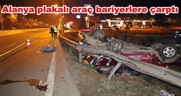 Trafik kazası: 1 ölü, 3 yaralı var