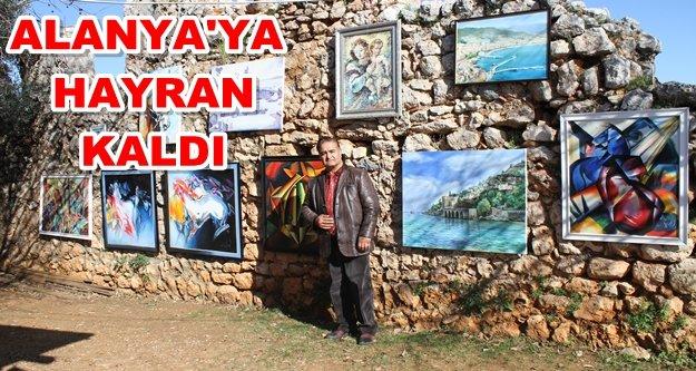 Alanya'da Azeri-Türk dostluğu sergisi