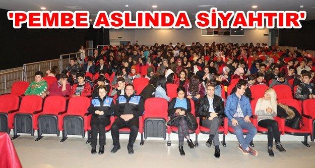 Alanya'da öğrencilere uyuşturucu karşıtı oyun